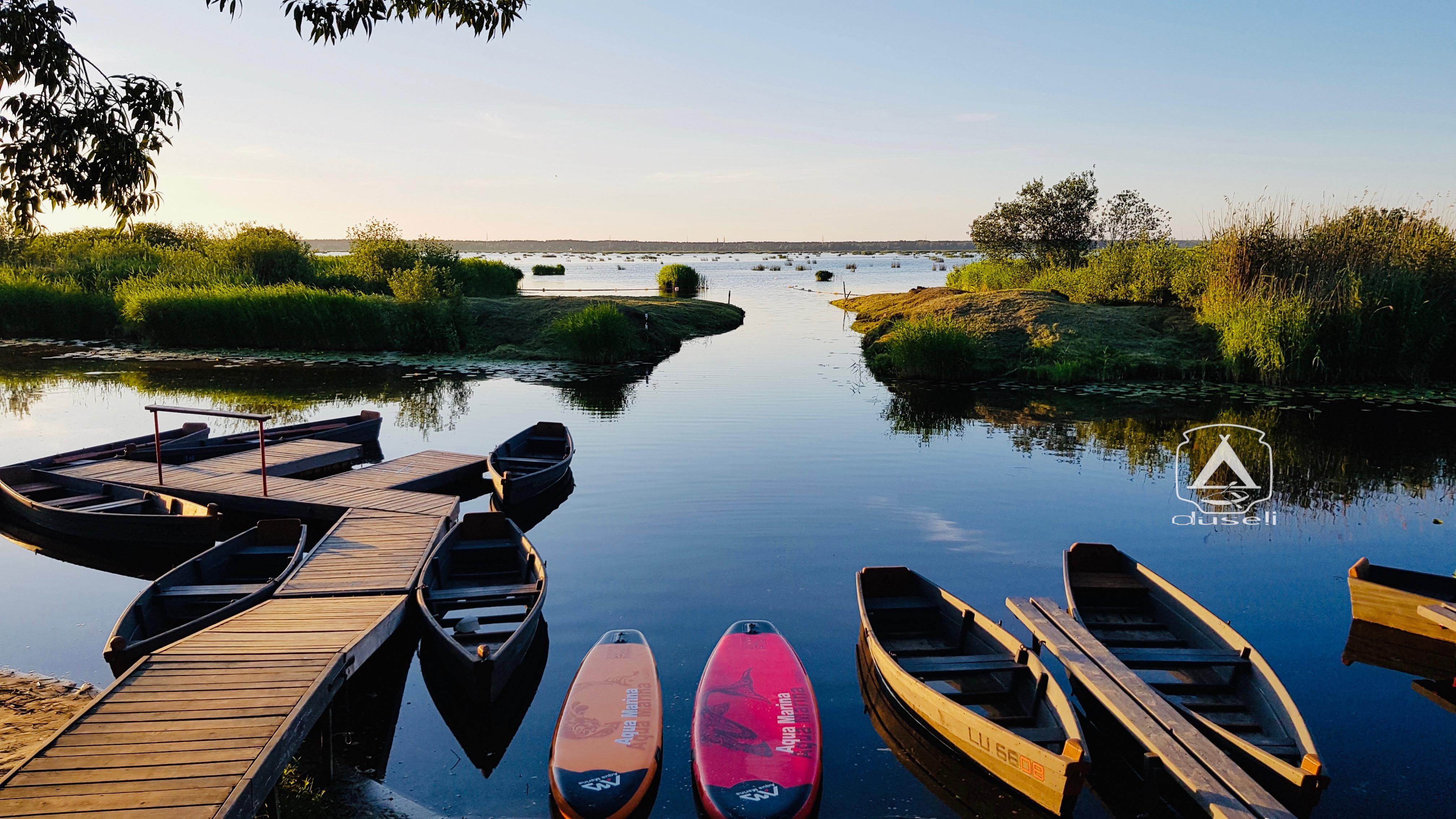 Laivu nomas Babītes ezerā